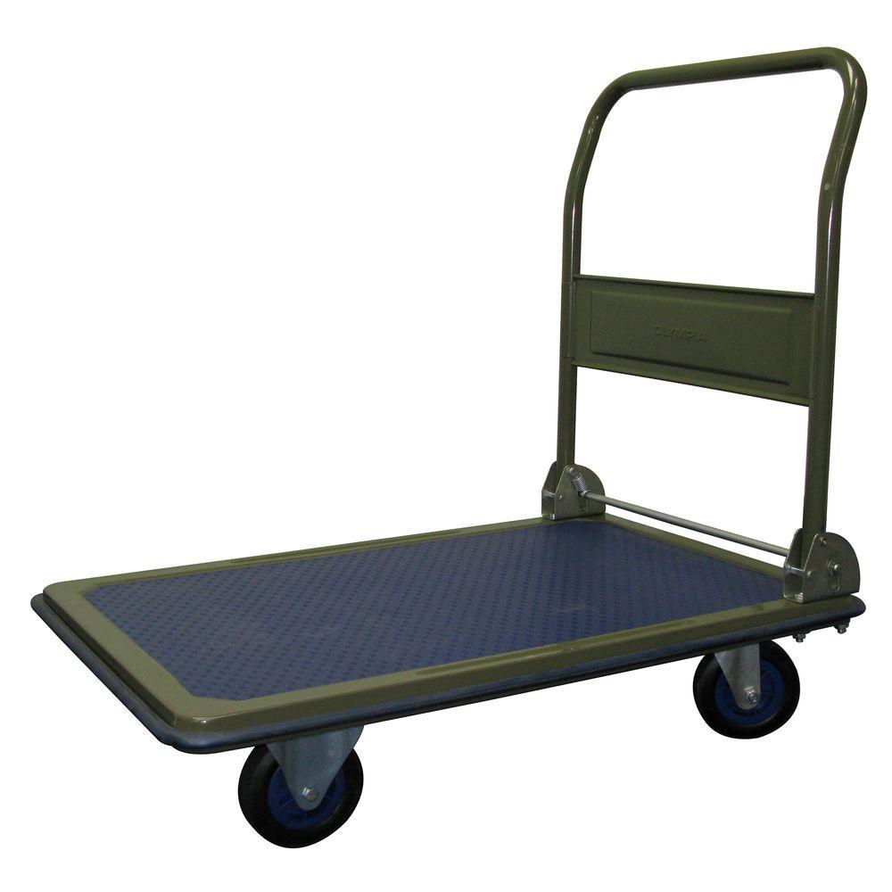 OLYMPIA Heavy Duty 600 lb. Capacity Folding Platform Cart by OLYMPIA