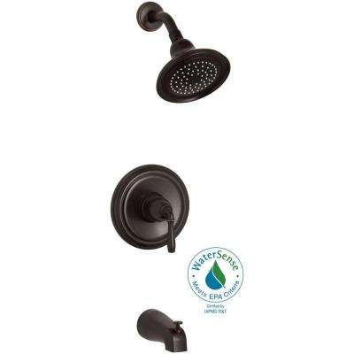 Devonshire Rite-Temp Single-Handle 1-Spray Tub and Shower Faucet in Oil-Rubbed Bronze (Valve Not Included)