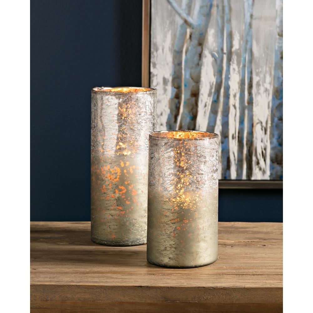 Zuri Metallic Ombre Vases (Set of 2)
