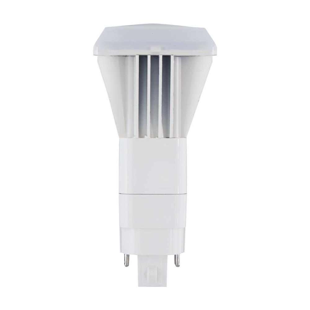 26-Watt Equivalent Daylight Non-Dimmable Vertical 4-Pin LED Light Bulb