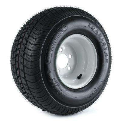 215/60-8 18x850-8 Load Range C 5-Hole Trailer Tire and Wheel Assembly