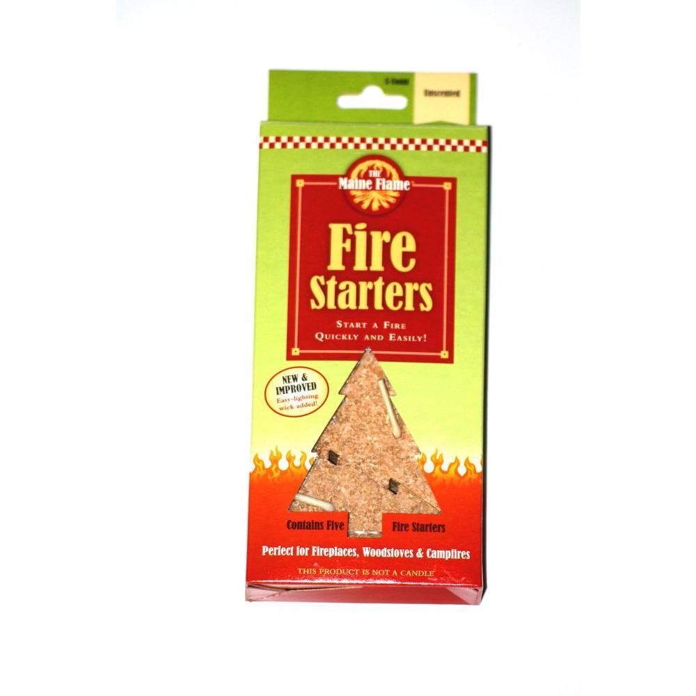 Unscented Fire Starter (5-Pack)