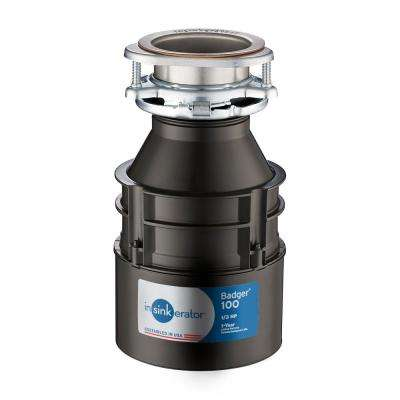 Badger 100 1/3 HP Continuous Feed Garbage Disposal (3-Pack)
