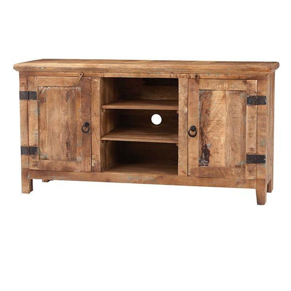 Home Decorators Collection Holbrook Natural Reclaimed Entertainment Center