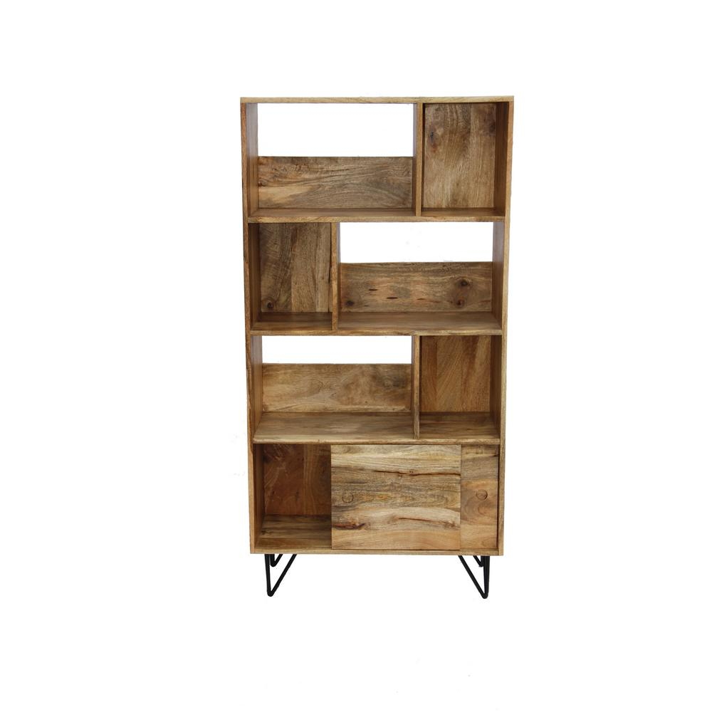 Brown Multi Storage Commodious Book Shelf