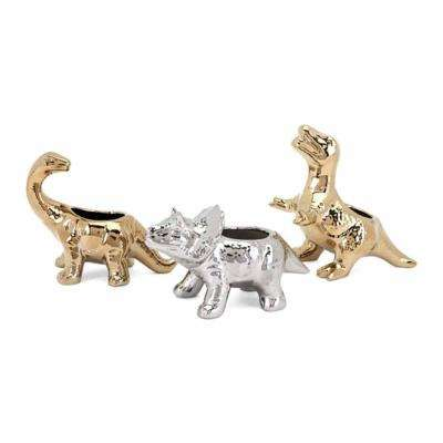 Dinosaur Statuaries (Set of 3)