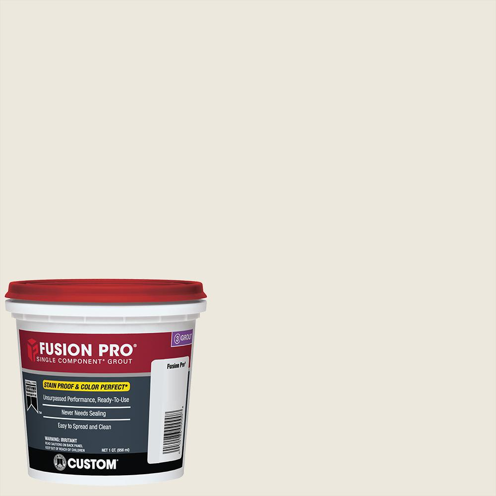 Fusion Pro #381 Bright White 1 Qt. Single Component Grout