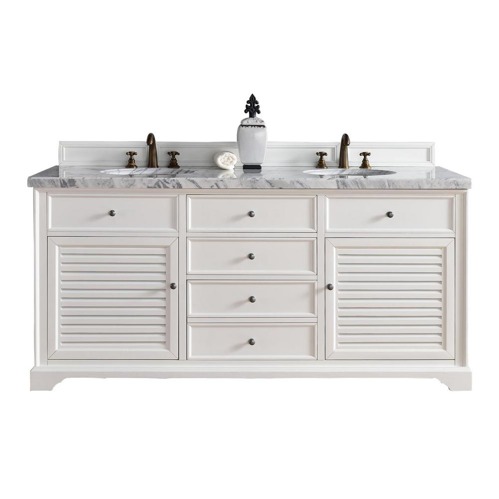 White Double VanityHome Decorators Collection Sa 67 In Double Vanity In  Antique