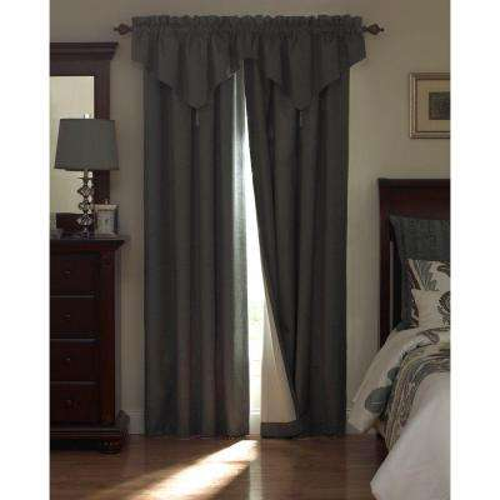 National Sleep Foundation Room Darkening Polyester Curtain Panel