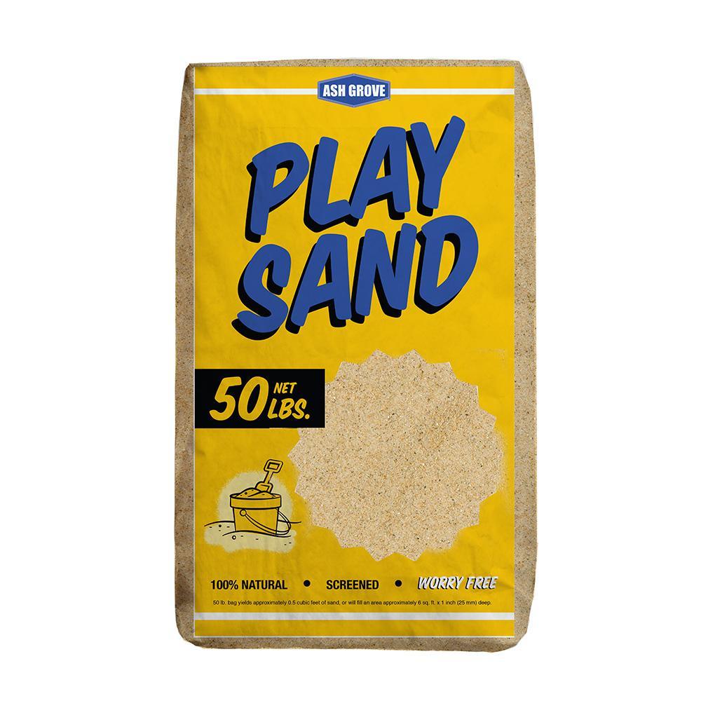 Ash Grove 50 Lb Play Sand 361 Ag