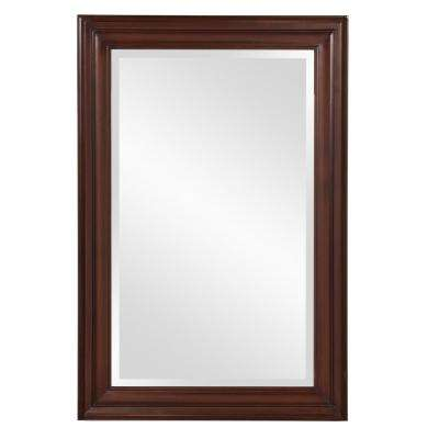 George Rectangular Brown Mirror