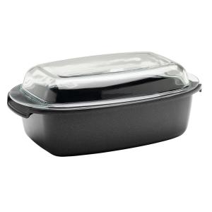 Berndes SignoCast Non-Stick Cast Aluminum Multi-Purpose Roaster with Lid by Berndes
