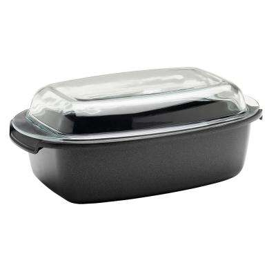 SignoCast Non-Stick Cast Aluminum Multi-Purpose Roaster with Lid