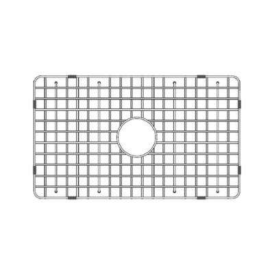 27.5 in. Fireclay Grid for Undermount Single Bowl Sink in Stainless Steel