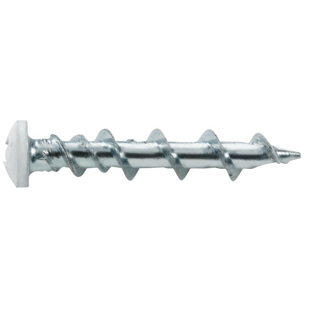 Walldog 1-1/2 in. Hi-Lo Steel Pan-Head Phillips Anchors (25-Pack)