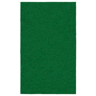 Evergreen Collection 3 ft. 11 in. x 6 ft. 6 in. Artificial Grass Synthetic Lawn Turf Indoor/Outdoor Carpet