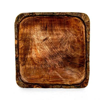 Artisan Wood - Bark Natural Decorative Bowl