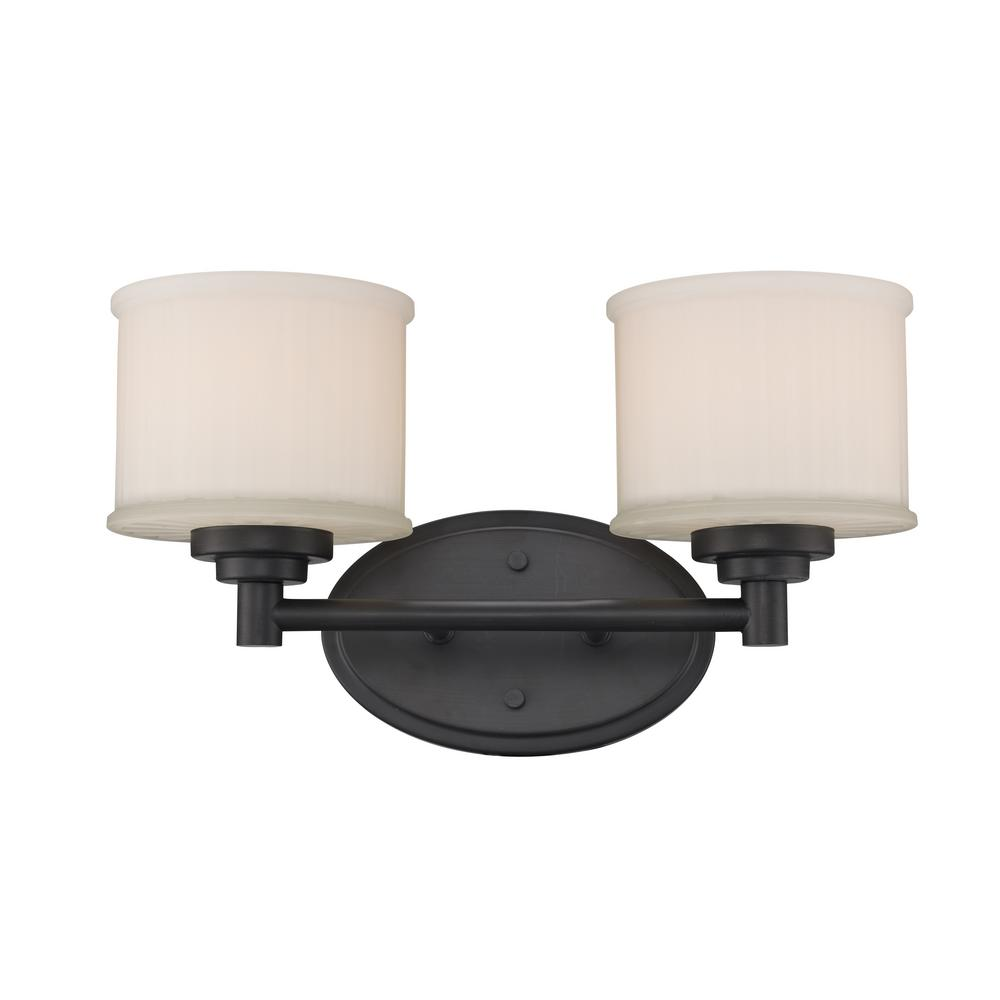 Westinghouse dunmore 3 light oil rubbed bronze wall mount - Bathroom lighting oil rubbed bronze ...