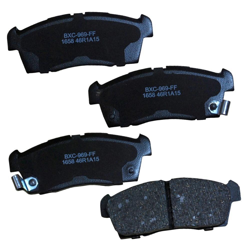 STOP Ceramic Disc Brake Pad fits 2012 Mitsubishi i-MiEV
