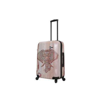 Joao 24 in. Elephant Spinner Suitcase