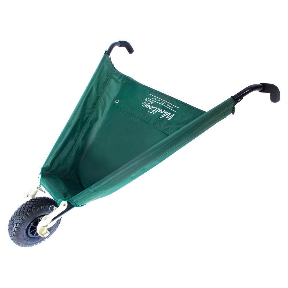 WheelEasy LE 3 cu. ft. Foldable Garden Cart