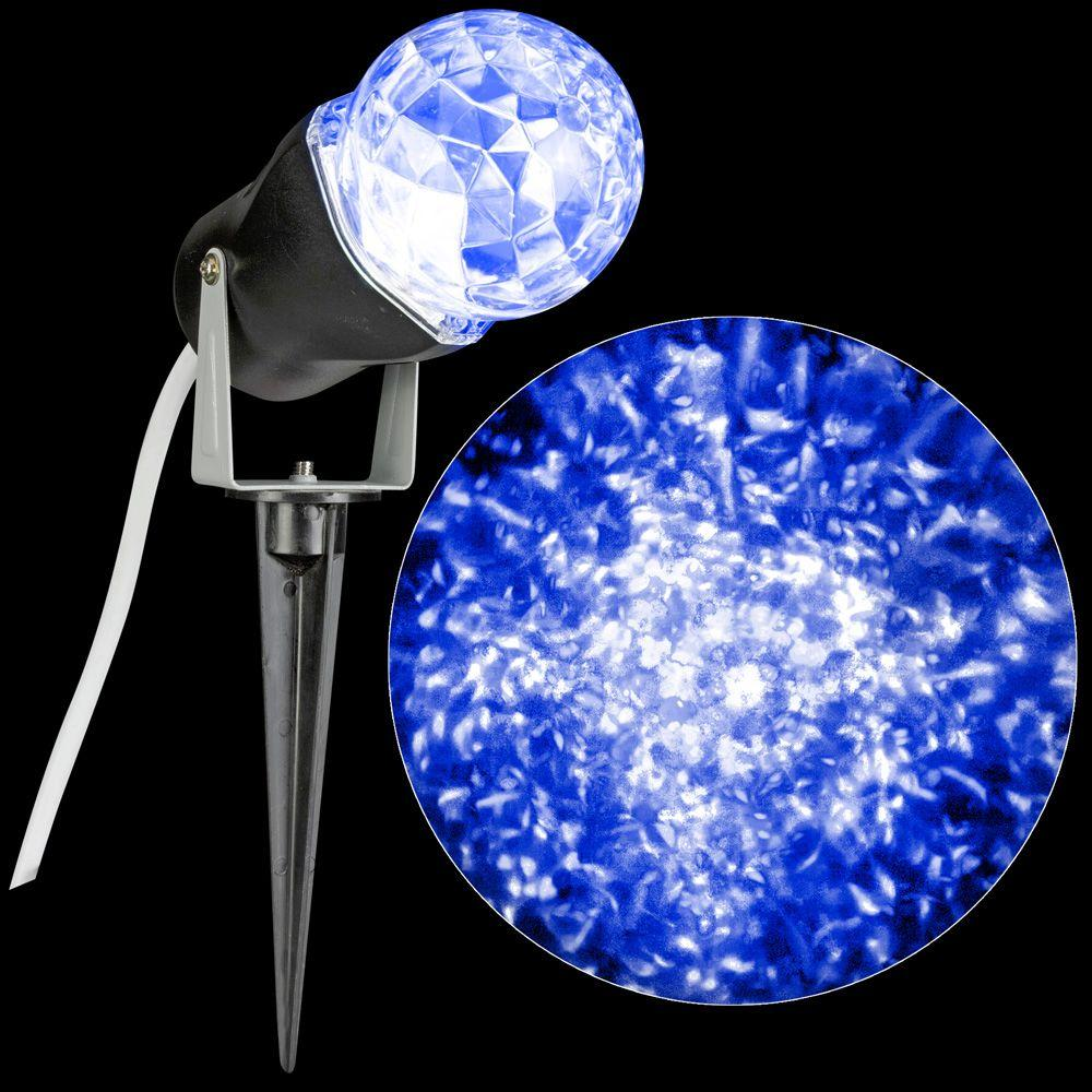 Lightshow icy blue projection kaleidoscope spotlight stake 88619 lightshow icy blue projection kaleidoscope spotlight stake aloadofball Image collections