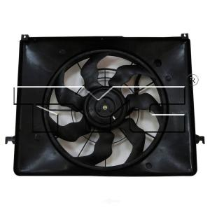 TYC 621110 Lexus RX330 Replacement Radiator//Condenser Cooling Fan Assembly