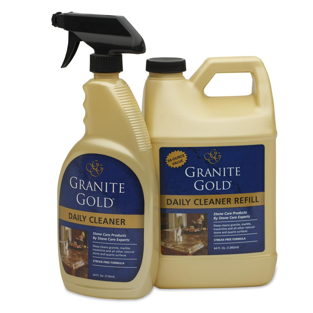 Marble Cleaner And Sealer : Granite gold oz countertop liquid sealer gg the