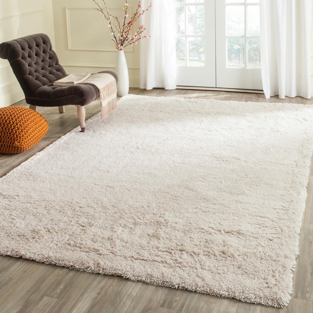 Home Decorators Collection Faux Sheepskin White 5