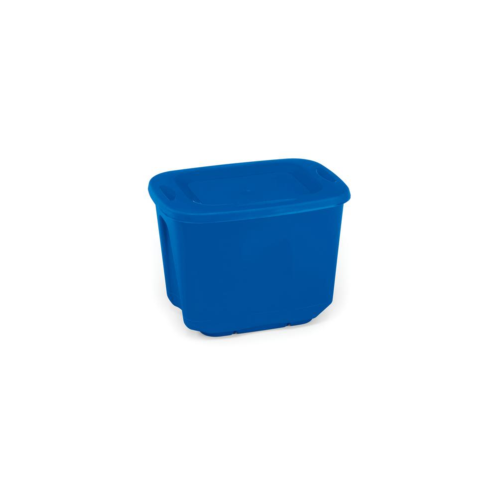 10 Gal. Storage Tote in Blue (5-Pack)