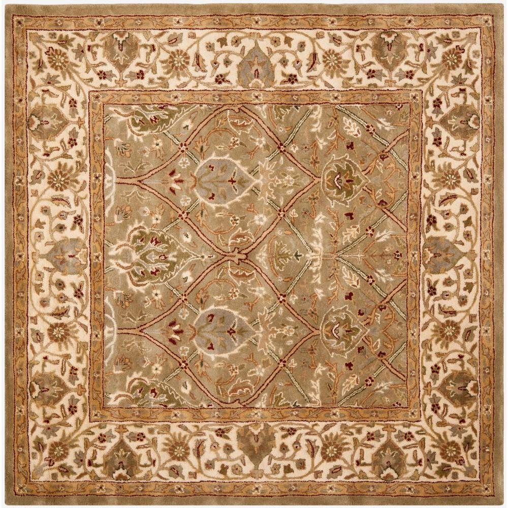 Safavieh Persian Legend Light Green/Beige 8 ft. x 8 ft. Square Area Rug