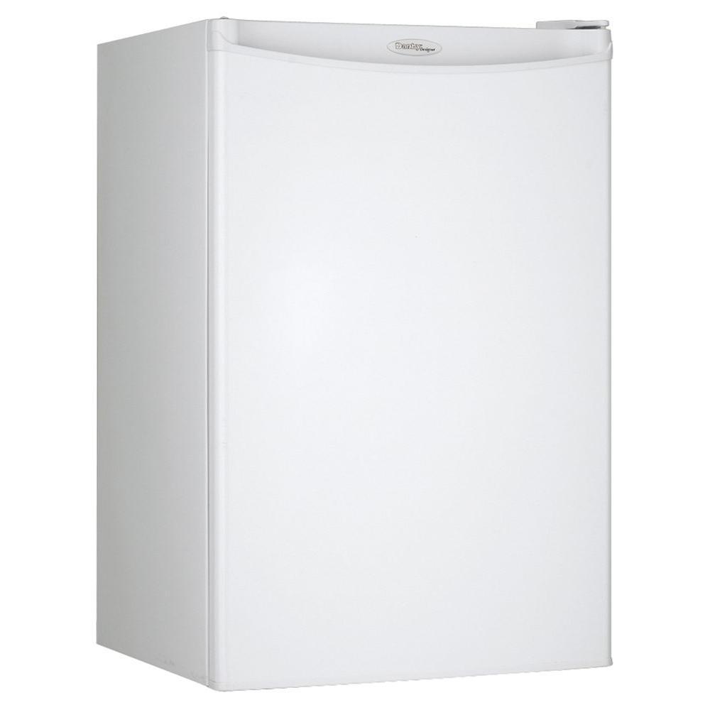 Danby 4.4 cu. ft. Mini Refrigerator in White-DISCONTINUED