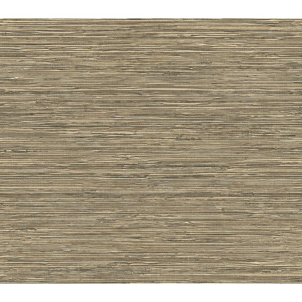 The Wallpaper Company 8 in. x 10 in. Neutral Grass Cloth Wallpaper Sample