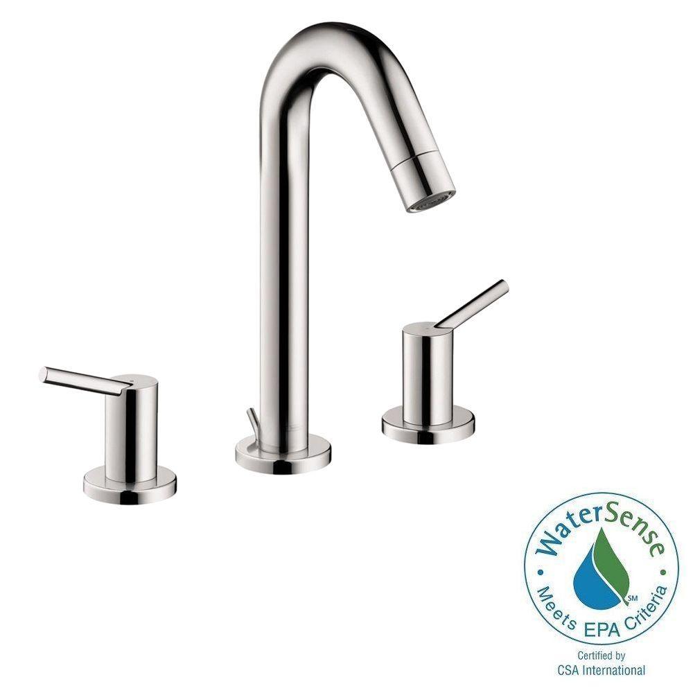 talis s 8 in widespread 2handle midarc bathroom faucet in chrome