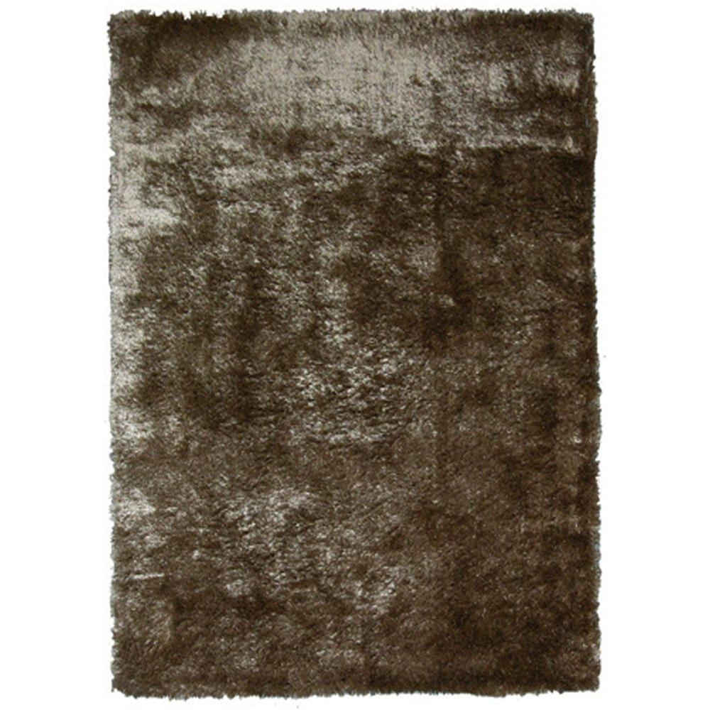 So Silky Meteorite Polyester 6 ft. x 8 ft. Area Rug