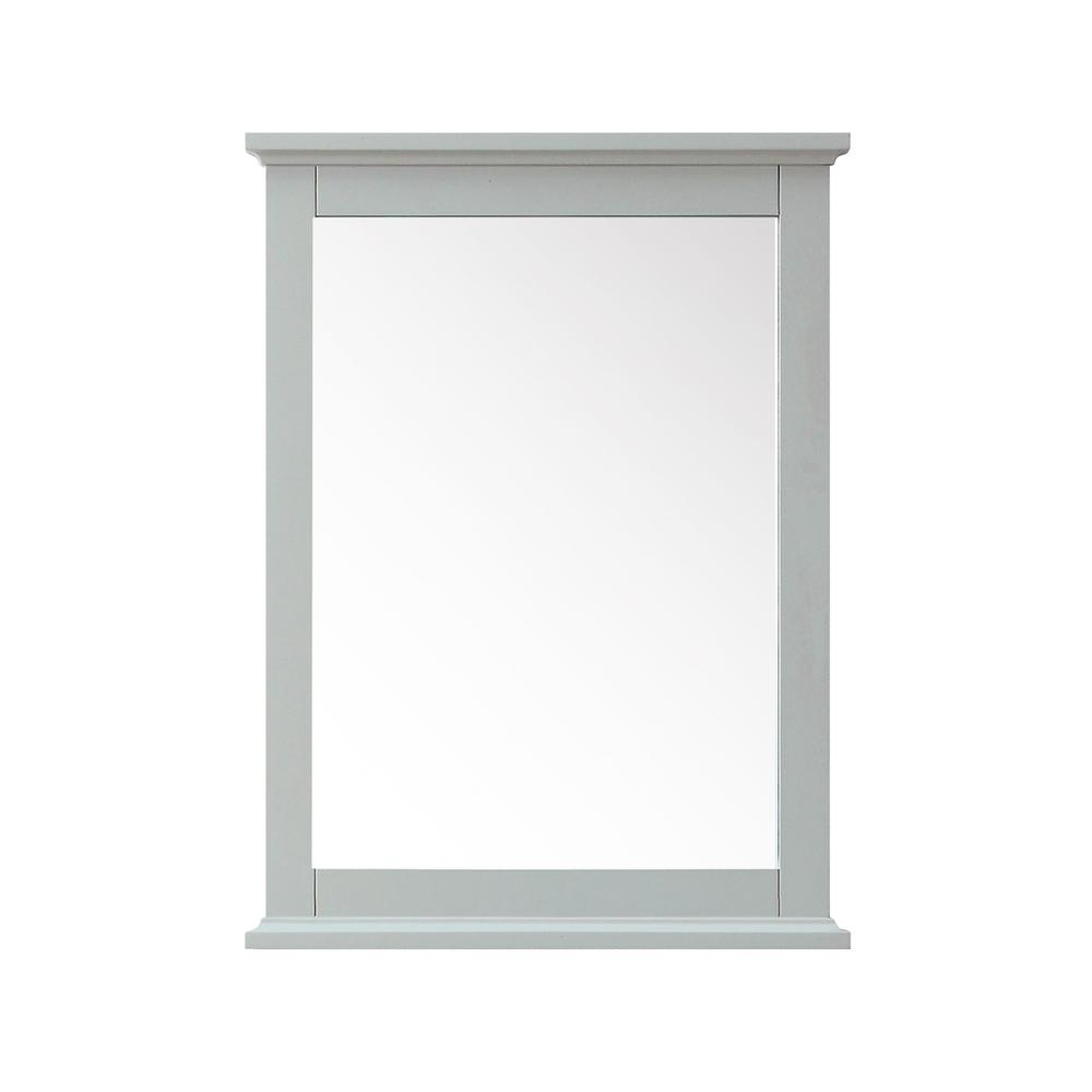 Aurora 24 in. W x 32 in. H Framed Mirror in