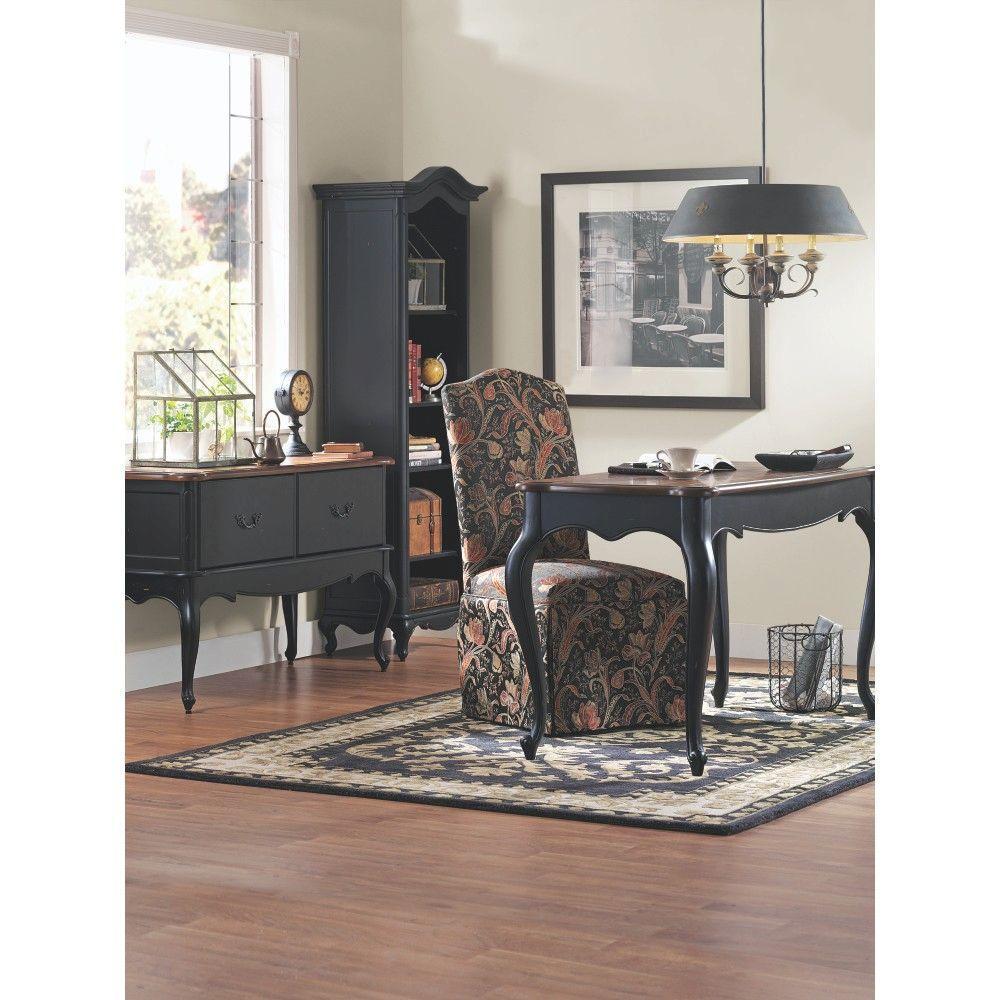 Provence Black and Chestnut Desk