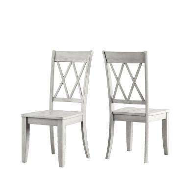 Sawyer 3 Piece Antique White Mission X Dining Set