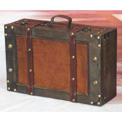 Antique Brown Trunk