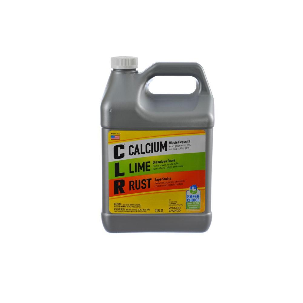 CLR 1 Gal. Calcium, Lime and Rust Remover-CL4-P - The Home Depot