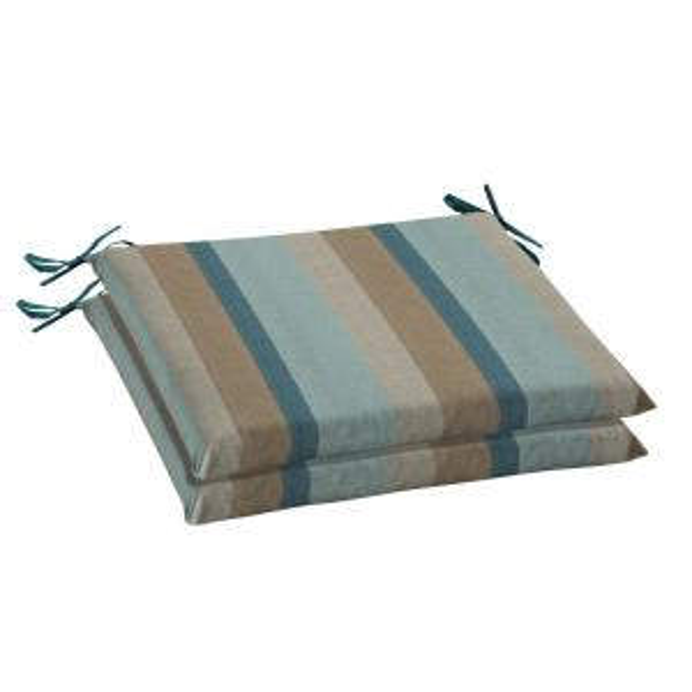 home decorators collection 20 x 18 sunbrella gateway mist outdoor chair cushion 2 pack. Black Bedroom Furniture Sets. Home Design Ideas