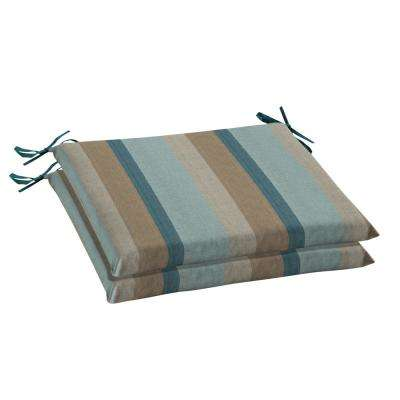 Sunbrella Gateway Mist Rectangular Outdoor Seat Cushion (2-Pack)
