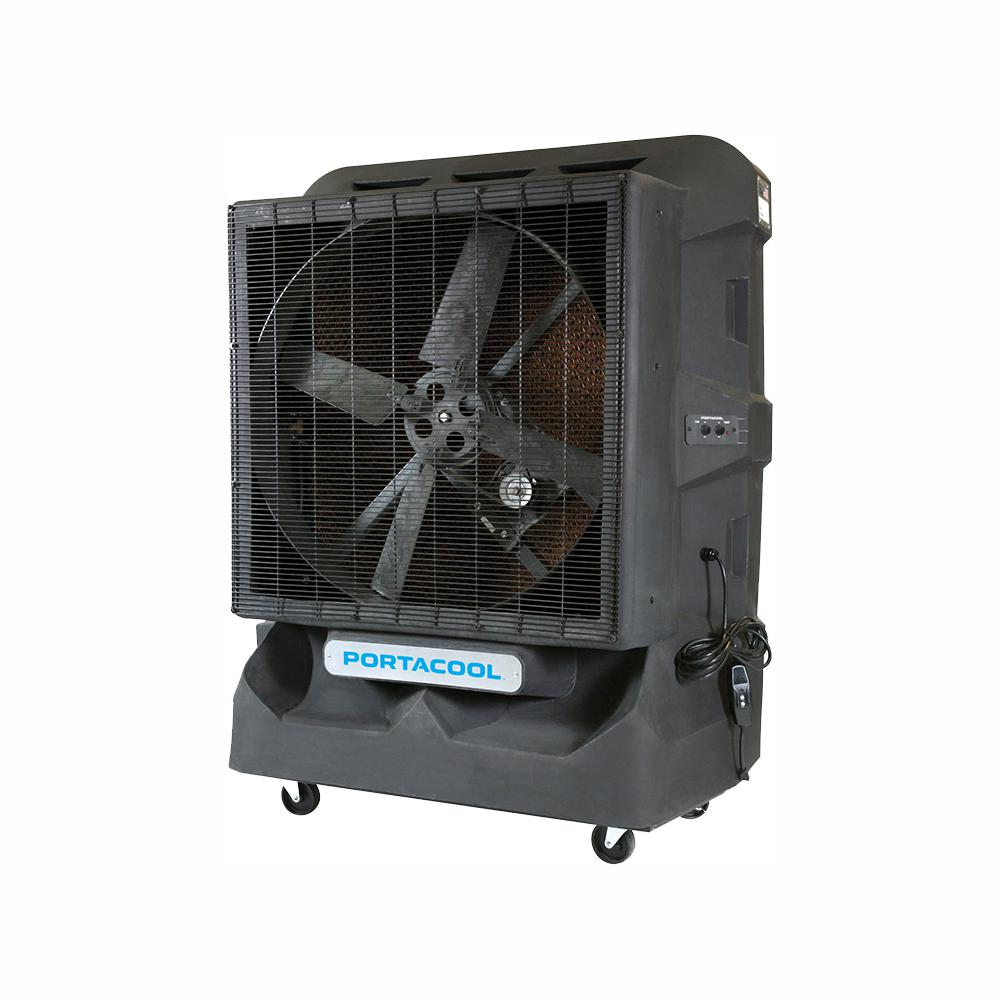 PORTACOOL Cyclone 160 8000 CFM 1-Sd Portable Evaporative Cooler for on