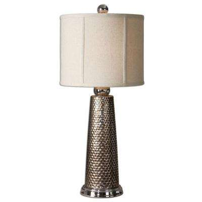 27.5 in. Nickel Accent Lamp