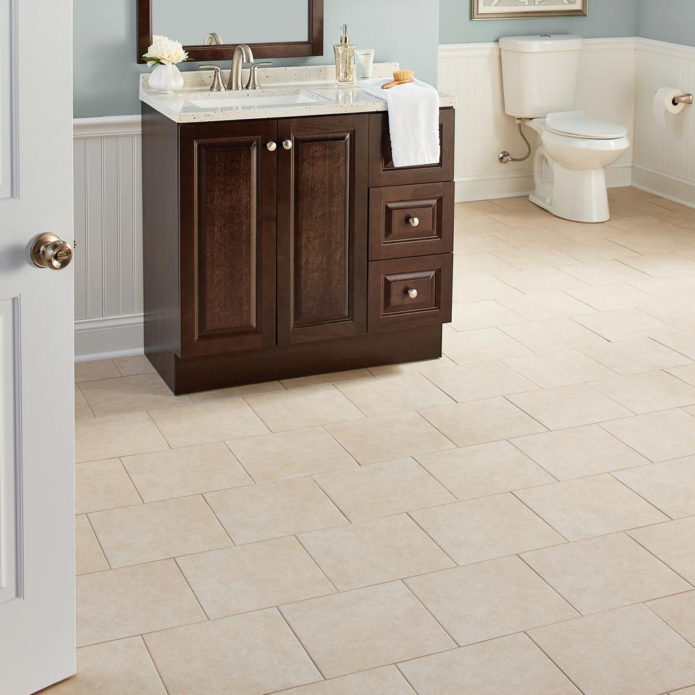 Trafficmaster Laa Bay 12 In X, Home Depot Bathroom Floor Tiles