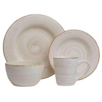 Sonoma 16-Piece Dinnerware Set in Ivory
