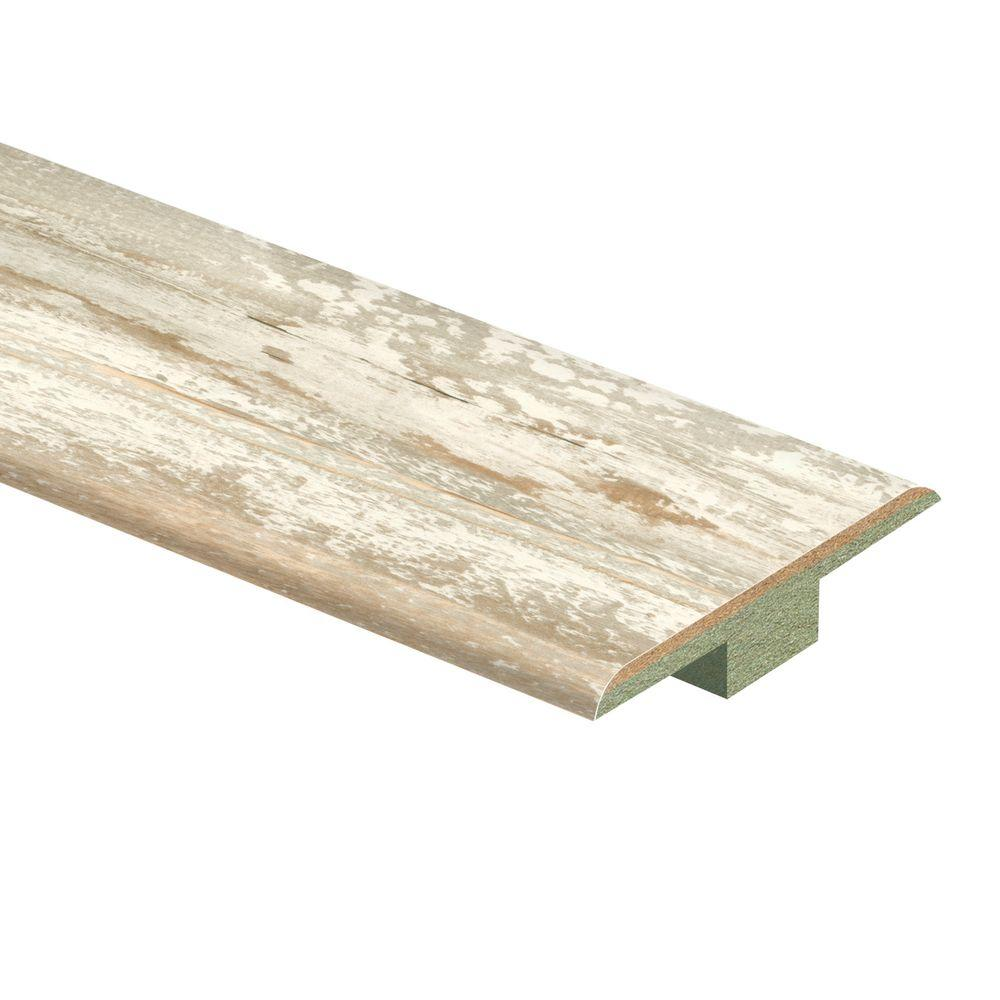 Zamma Coastal Pine 7 16 In Thick X 1 3 4 Wide 72 Length Laminate T Molding 0137221623 The Home Depot