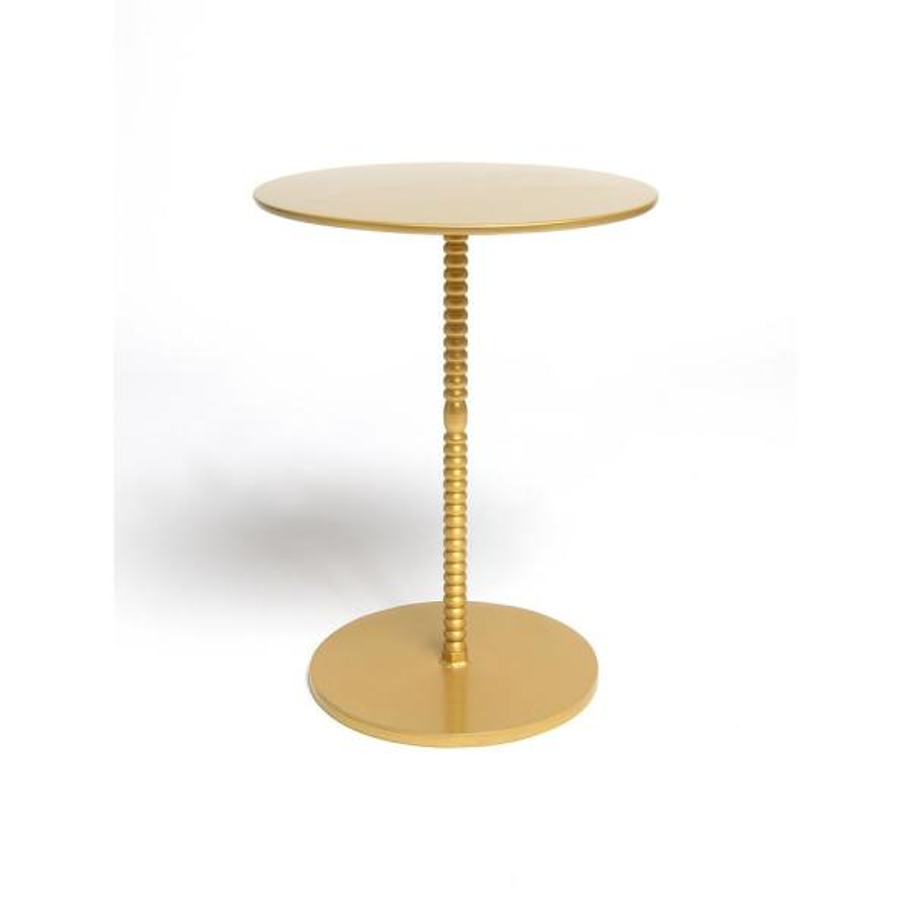 Orissa Brass Pedestal Table