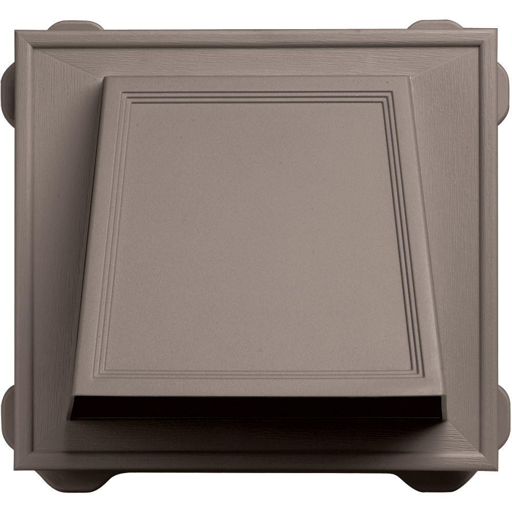 Builders Edge 6 in. Hooded Siding Vent #008-Clay