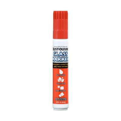 Red Glass Marker (4-Pack)